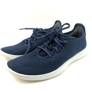 Allbirds Women's Tree Runners Navy Blue Sneakers